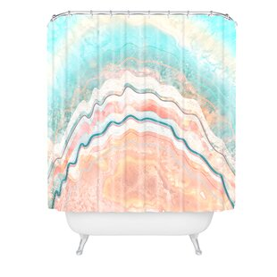 Iveta Abolina Spring Oyster Single Shower Curtain