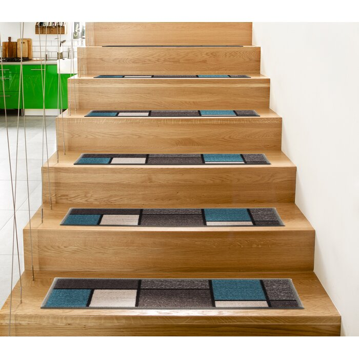 4-Pack Orren Ellis Contemporary Modern Boxes Non-Slip Stair Tread