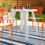 Pelzer Metal Bistro Table