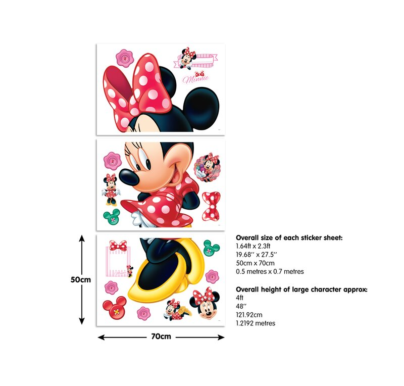 Mickey Mouse & Friends Wandtattoo Disney Minnie Maus | Wayfair.de