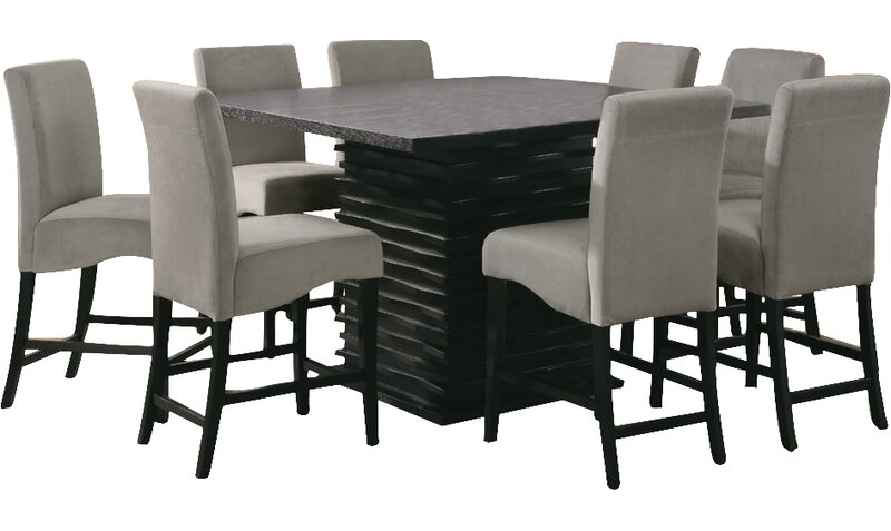 bob counter height dining table  reviews  allmodern