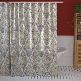 Rylance Single Shower Curtain by World Menagerie New