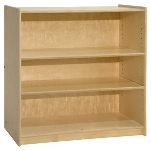 Contender 3 Compartment Shelving Unit Bookcase by Wood Designs