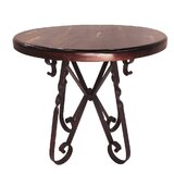 Thurmond Wrought Iron Bar Table