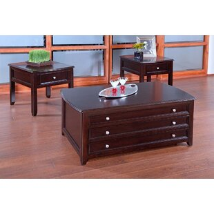 Haverly 3 Piece Coffee Table Set