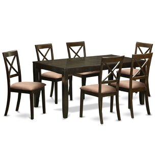 Lynfield 7 Piece Extendable Dining Set by East West Furniture Cheap
