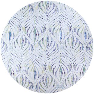 Beyer Green/White Indoor/Outdoor Area Rug