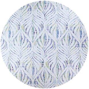 Beyer Green/White Indoor/Outdoor Area Rug