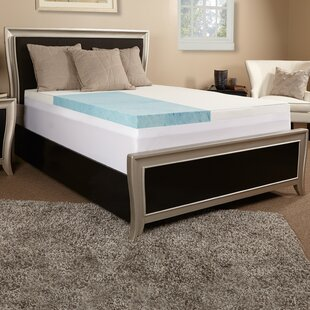 Order 4 Gel Memory Foam Mattress Topper By Luxury Solutions