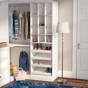 Free Standing Closet Systems Youu0027ll Love | Wayfair