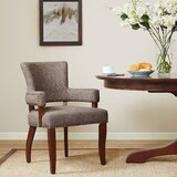 Swensen Arm Chair in Brown by Charlton Home®