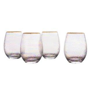 Celine Stemless Wine Glass (Set of 4)