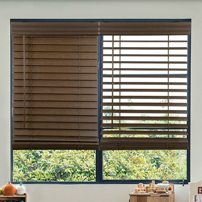 Faux Wood Blinds Shades You Ll Love In 2019 Wayfair