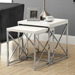 2 Piece Monarch Nesting Table Set by Curators Collection - Garrison Hullinger