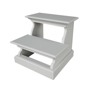 Sroda 2-Step Wood Bed Step Stool with 200 lb. Load Capacity  sc 1 st  Wayfair & Step Stool For Bed | Wayfair islam-shia.org