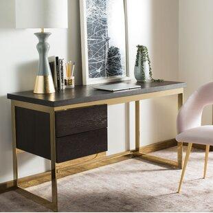 Leeson Oak Desk by Brayden Studio