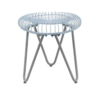 Incredible Gilpin Contemporary Round Iron Garden Stool Joss Main Evergreenethics Interior Chair Design Evergreenethicsorg