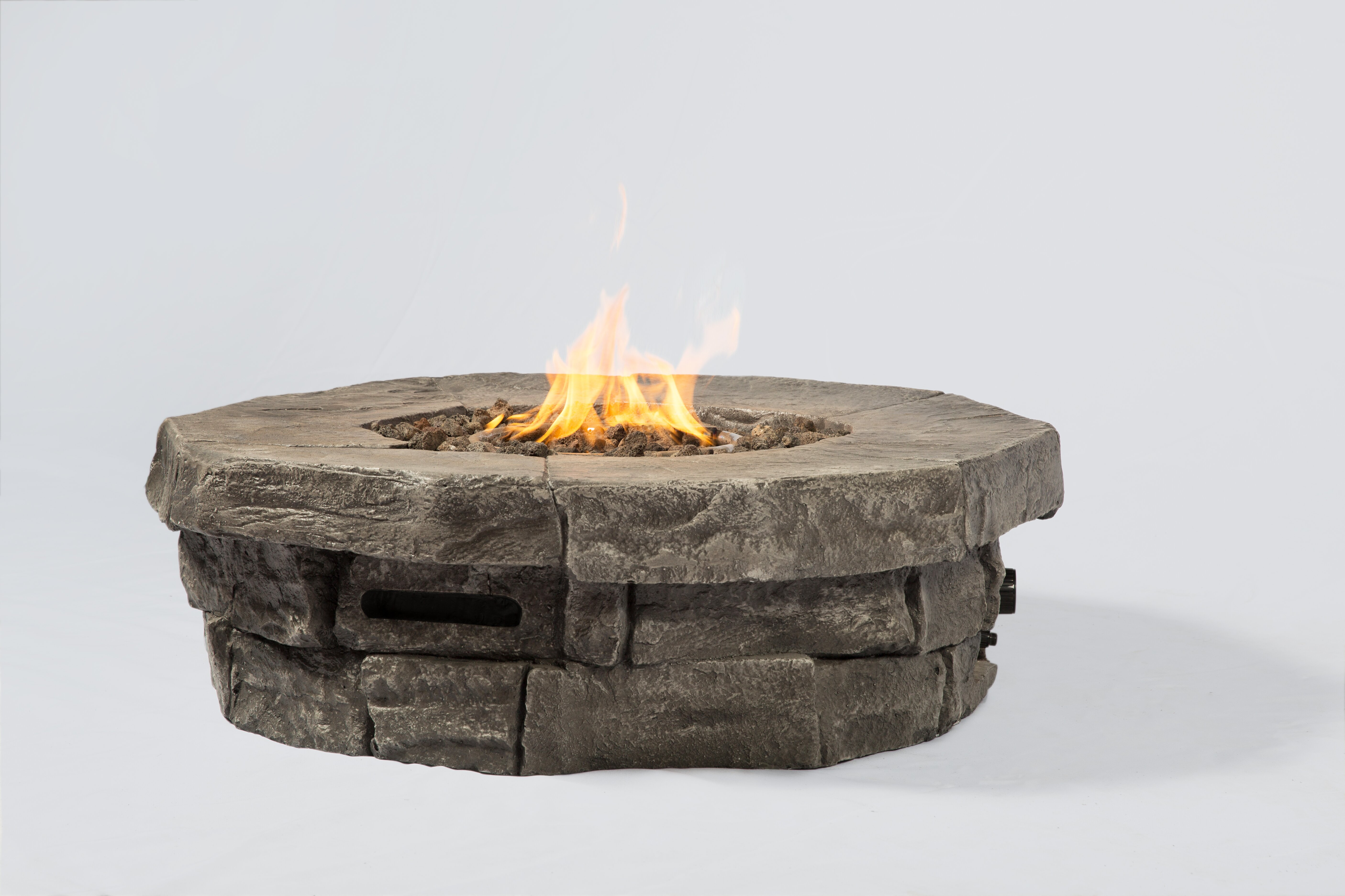 20lbs Slate Black Heat Resistant Natural Fire Stones For Fireplace Fire Pits Patio Lawn Garden Outdoor Heaters Fire Pits