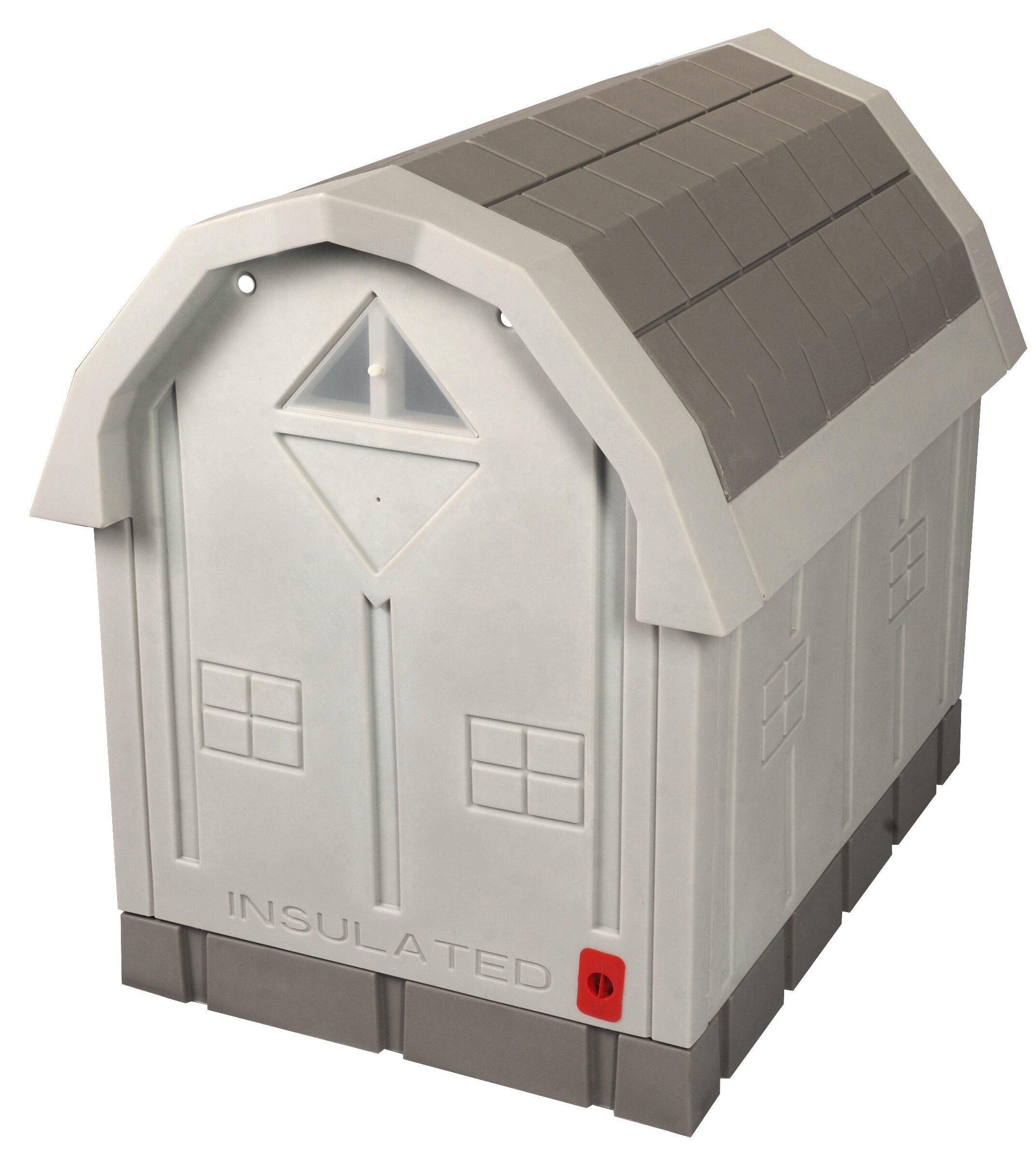 Dog Palace Premium Insulated Dog House With Heating Pad Wayfair