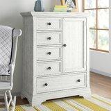 5 Drawer Combo Dresser by Three Posts Baby & Kids
