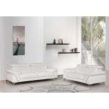 Almaden 2 Piece Leather Living Room Set by Orren Ellis
