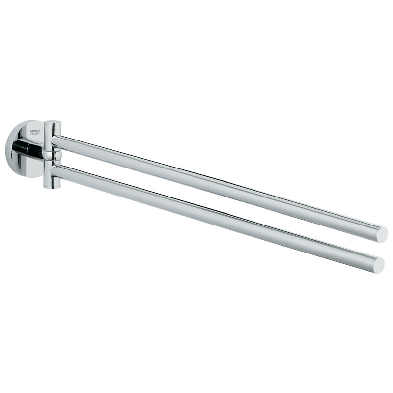 Essentials 18 Wall Mounted Double Towel Bar