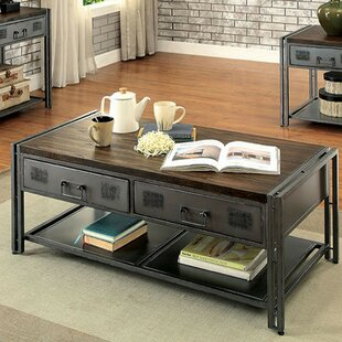 Mckittrick Coffee Table with Storage