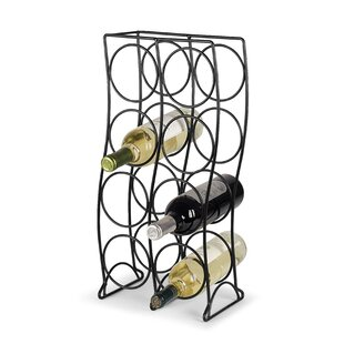 Curve 8 Bottle Tabletop Wine Rack New Design