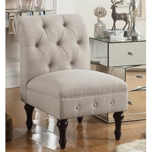 Check Prices LaGuardia Tufted Slipper Chair by Ophelia & Co.