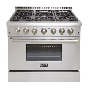 Professional 30 Free-standing Dual Fuel Range by Kucht