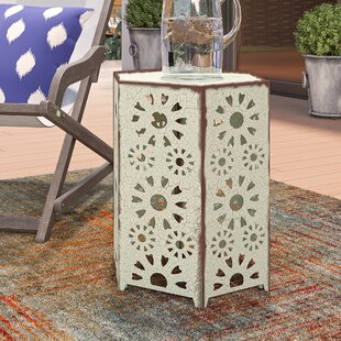 Balentine Outdoor Iron End Table