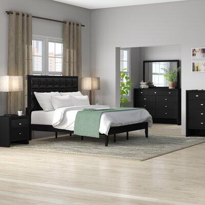 Ebern Designs Willenhall Platform 4 Piece Bedroom Set Size: Queen