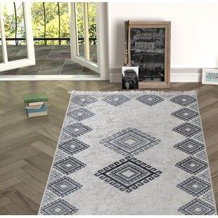 Longworth Black/Gray Indoor/Outdoor Area Rug