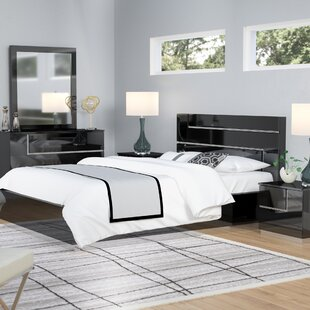 Lowrey Platform 5 Piece Bedroom Set