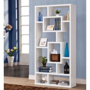 Affordable Price Hambrick Geometric Bookcase by Orren Ellis