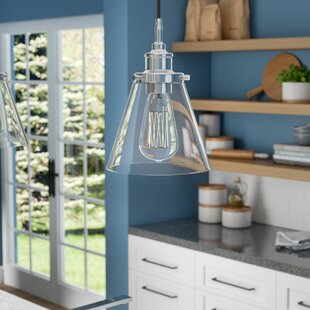 Find a Aldford 1-Light Bell Pendant By Three Posts