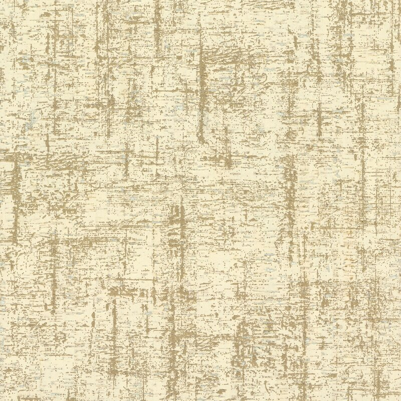 "17 Stories Liesl 27 L x 27"" W Wallpaper Roll  Color: Beiges"