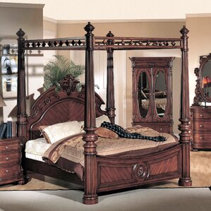 Albany Queen Canopy Bed