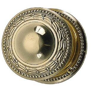 Laurel Double Dummy Door Knob with Rosette by BRASS Accents