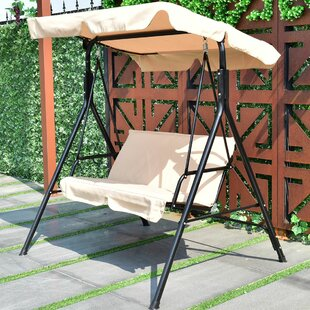 metal traditional large cream furniture swing chair barrel patio garden