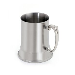 Beer Stein Glass 18 oz. Stainless Steel