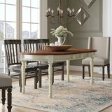 Shelburne Extendable Solid Wood Dining Table by Laurel Foundry Modern Farmhouse
