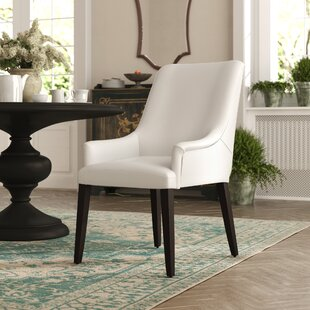 Affordable Cambell Genuine Leather Upholstered Dining Chair by Red Barrel Studio Reviews (2019) & Buyer's Guide
