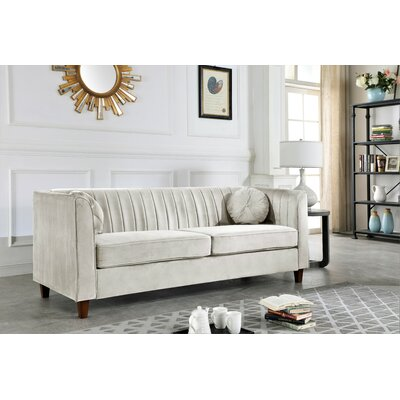 Beige Velvet Sofas You Ll Love In 2020 Wayfair
