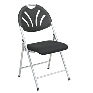 Hathcock Fan Back Folding Chair (Pack of 4) by Symple Stuff