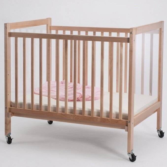 Infant Clearview Portable Crib with Mattress