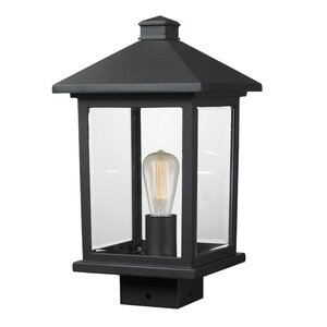 Leroy 1-Light Beveled Glass Lantern Head