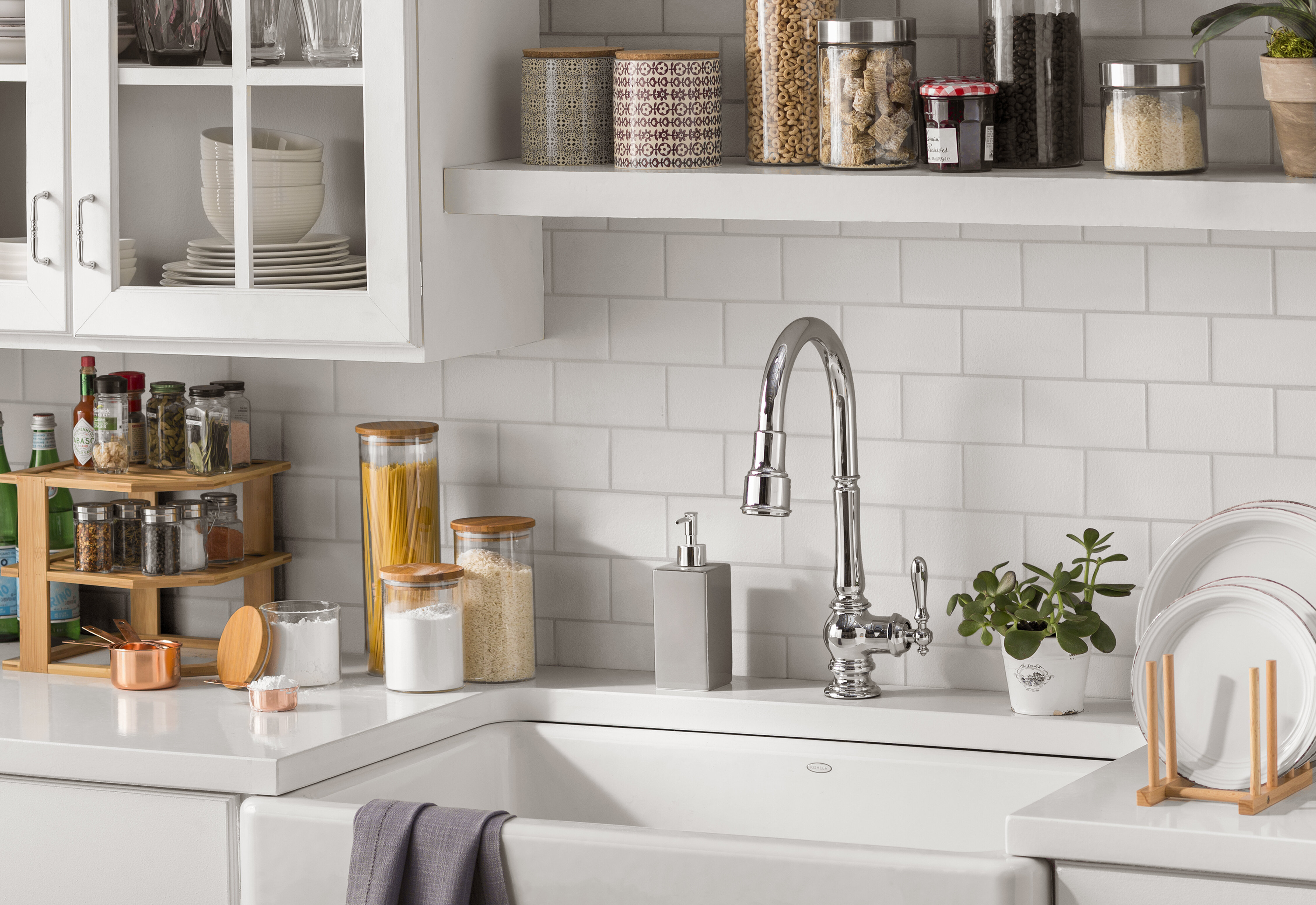 Declutter Your Life How To Organize Your Kitchen Cabinets Wayfair