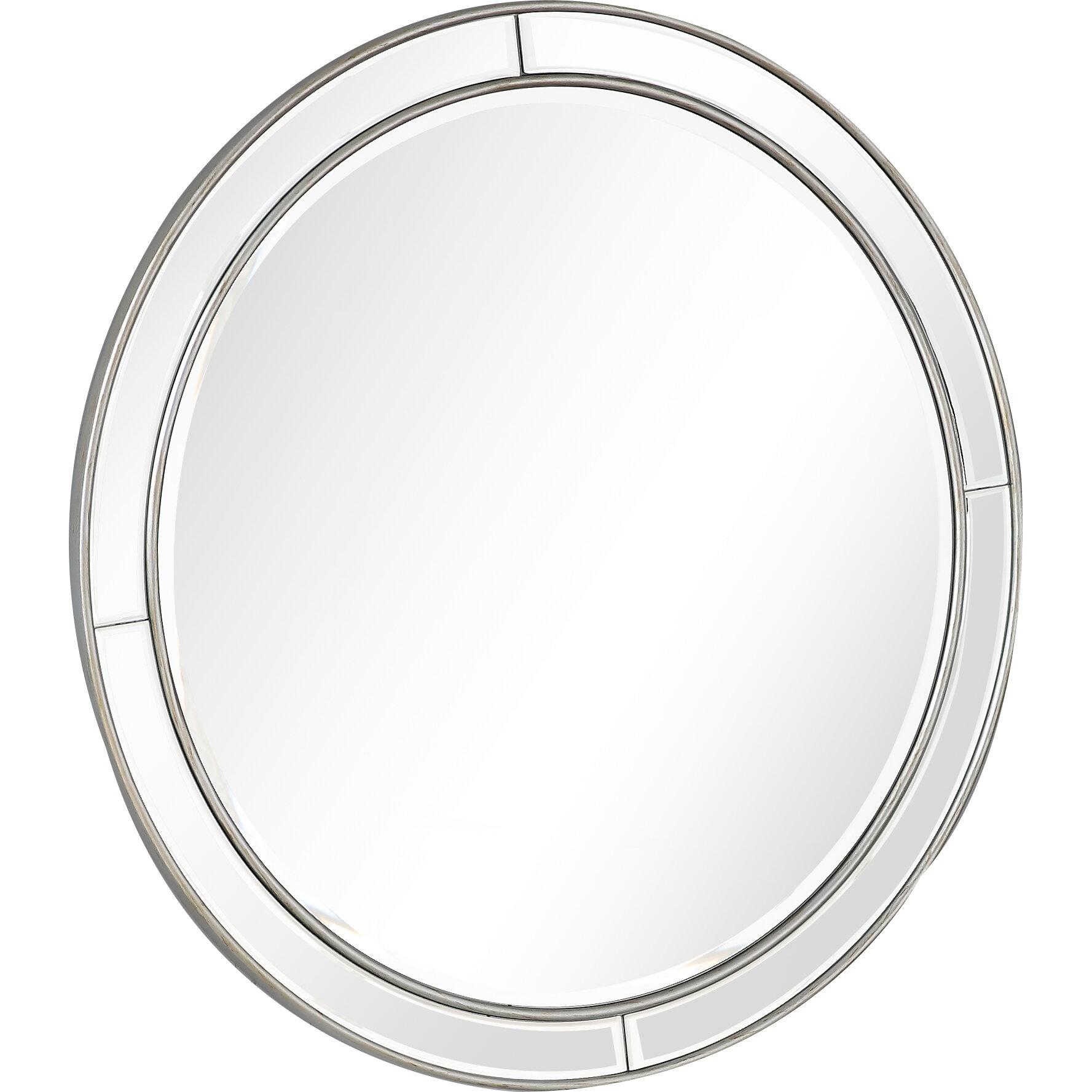 Everly Quinn Howe Beveled Wall Mirror Wayfair