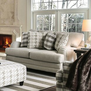 Compare prices Haings Loveseat by Darby Home Co Reviews (2019) & Buyer's Guide